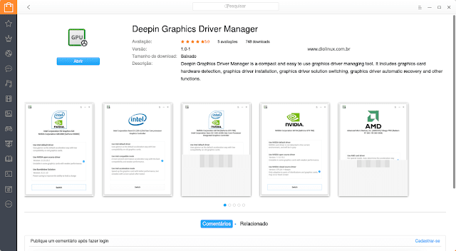 Deepin Store Driver Manager