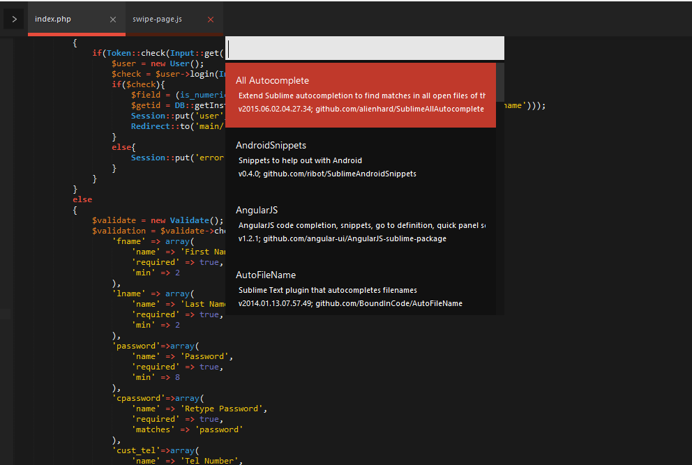 Code 4 Life: Sublime Text Extension