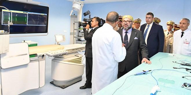 إقبار مستشفى إقليمي دشنه الملك