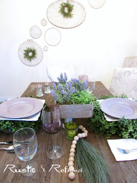 Tabletop Decor Ideas for Setting the Table