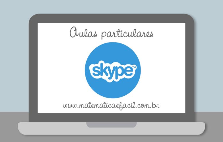 Promoção! Aulas de Matemática via Skype com apostila digital para o concurso do TJ – SP