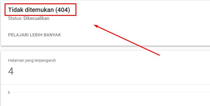 Perlukah Memperbaiki Error 404 Pada Google Search Console Versi Terbaru ? Ini Alasannya