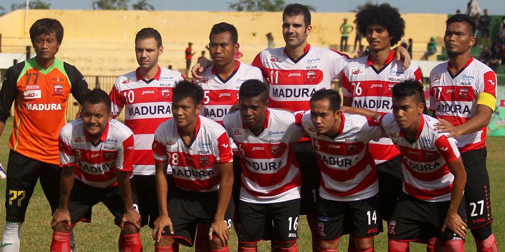 Madura United Menang 3-0 dari Mitra Kukar