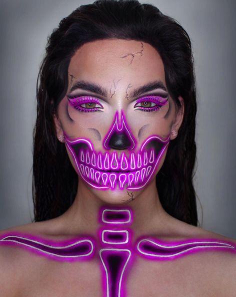Maquiagem Neon   Neon Makeup