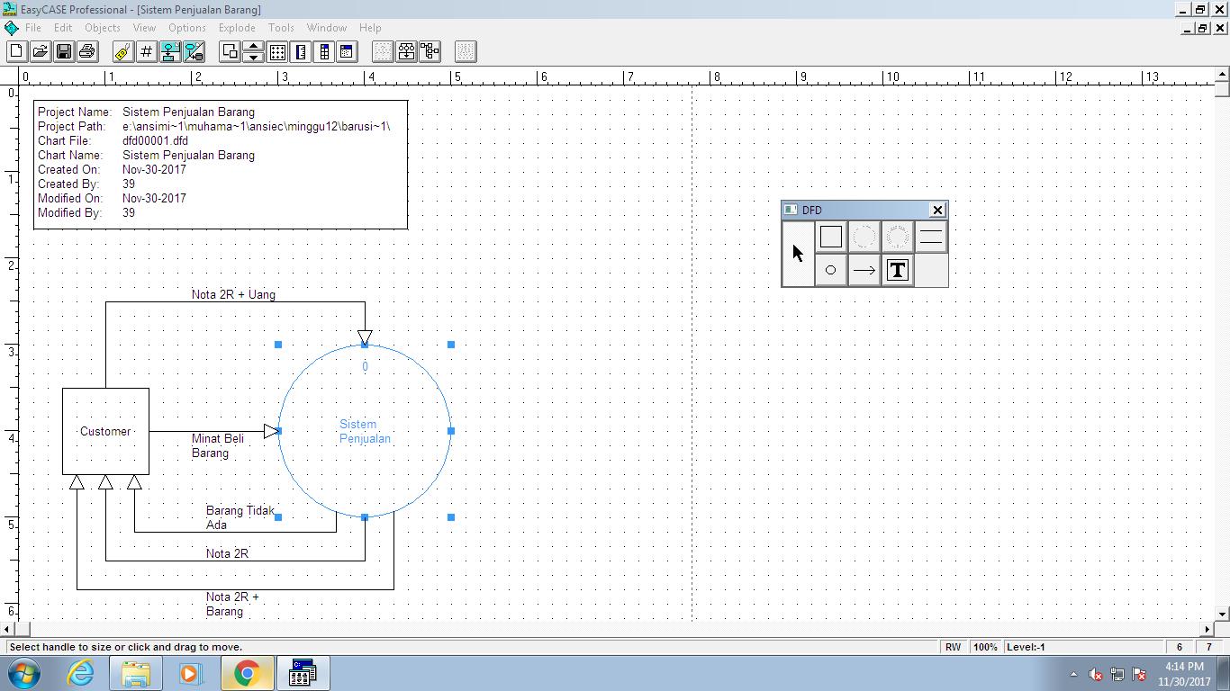 Diagram konteks sistem penjualan barang danil rafiqi diagram konteks sistem penjualan barang ccuart Images