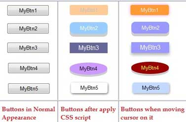 Button's Style with CSS in ASP.net