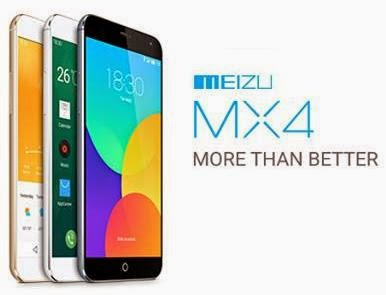 Meizu MX4 Launched, World's 1st MediaTek MT6595 Android Phone