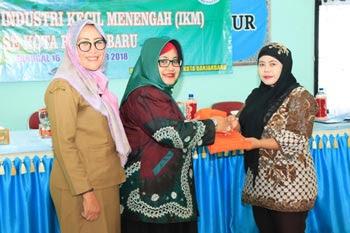 Dekranasda Banjarbaru Gencar Latih Industri Kecil Menengah