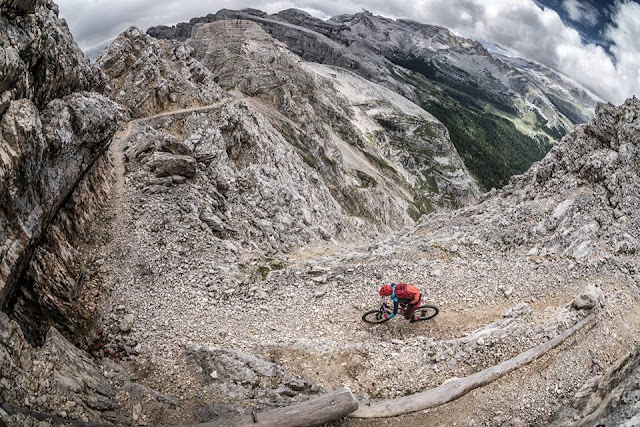 Mountainbike Touren Klassiker Kronplatz Monte Vallon Bianco