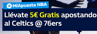 william hill promocion nba Celtics vs 76ers 11 enero