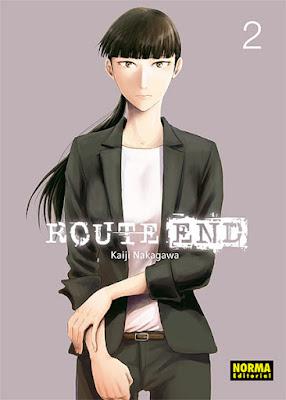 """Reseña de """"Route End"""" núm 2 de Kaiji Nakagawa - Norma Editorial"""