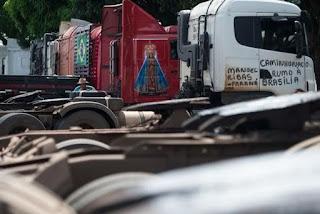 """Apesar de acordo, sindicato dos caminhoneiros da PB diz que """"a greve vai continuar"""""""