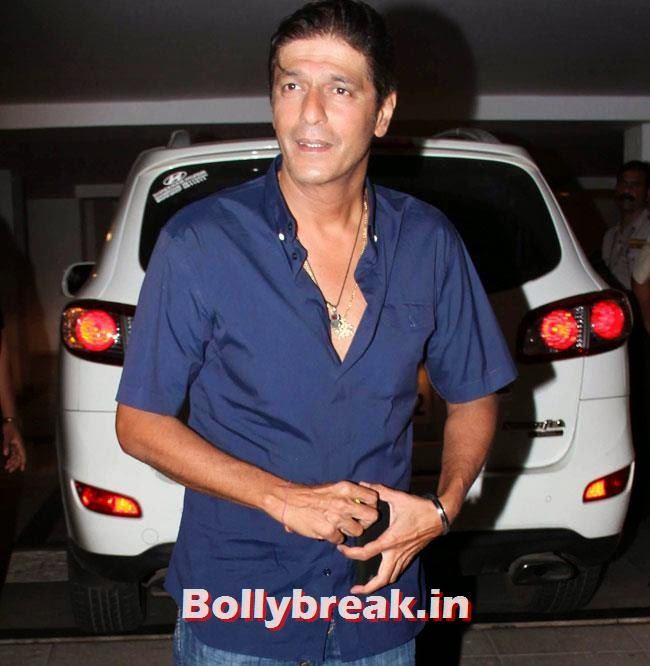 Chunkey Pandey, Karan Johar Birthday Party Pics 2014