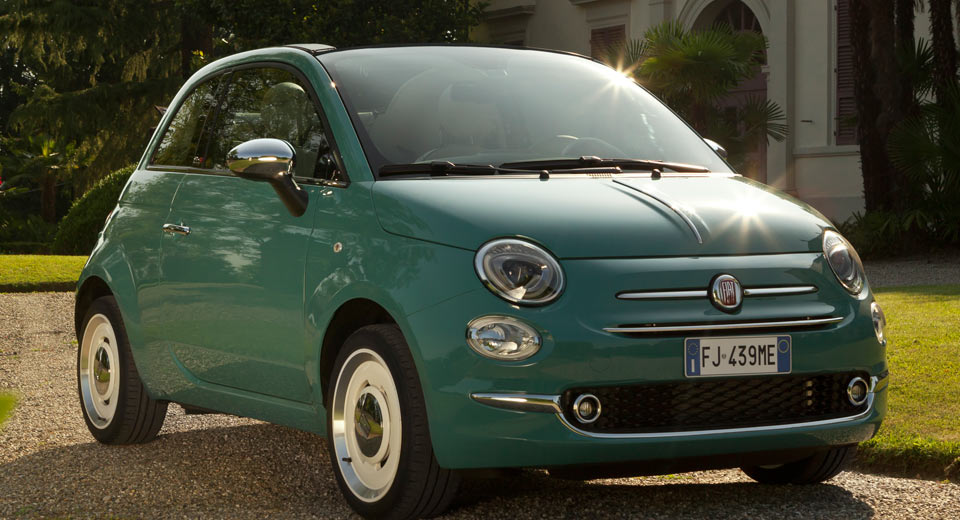 fiat 500 anniversario edition blows out some cheaper candles w video. Black Bedroom Furniture Sets. Home Design Ideas