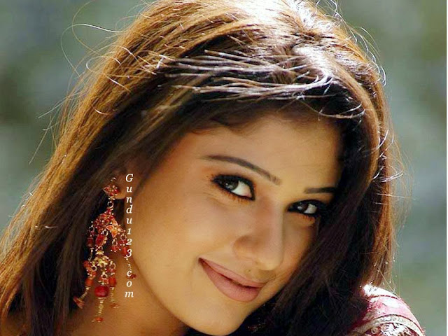 Beautiful And Spicy Actress Nayantara HD Wallpaper