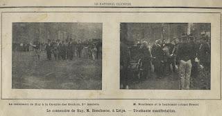 Huldeviering van Jean-Joseph Ronchesne (1804-1905)