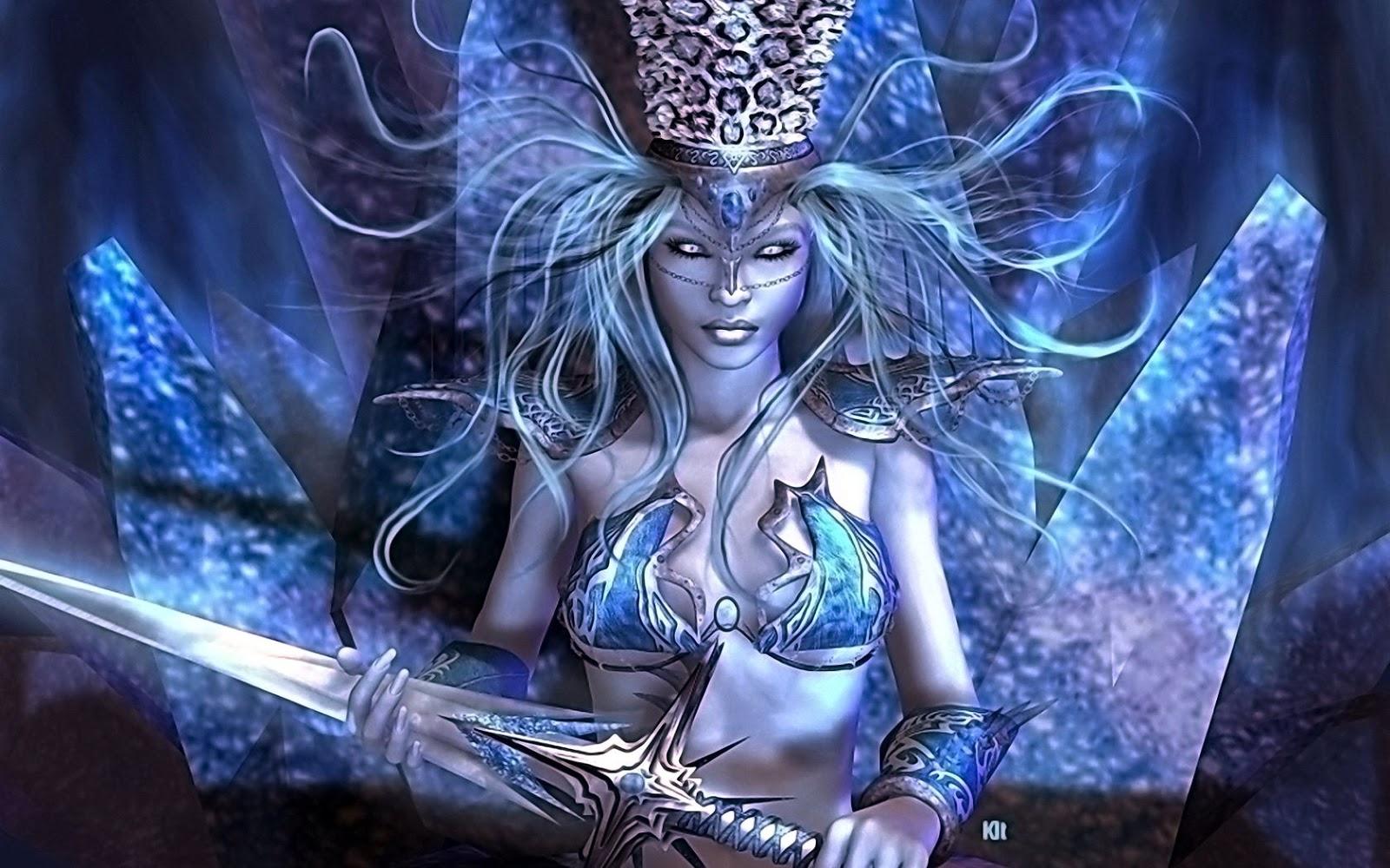 3d women fantasy art   ART TWO
