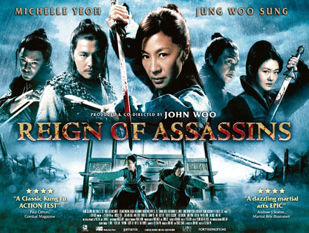 REIGN OF ASSASSINS Poster