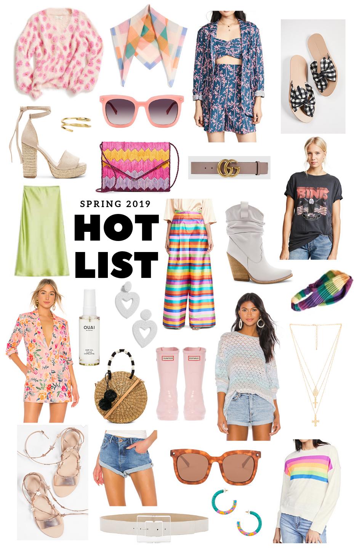 Spring Hot List