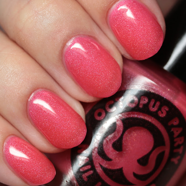 Octopus Party Nail Lacquer Bora the Explorer
