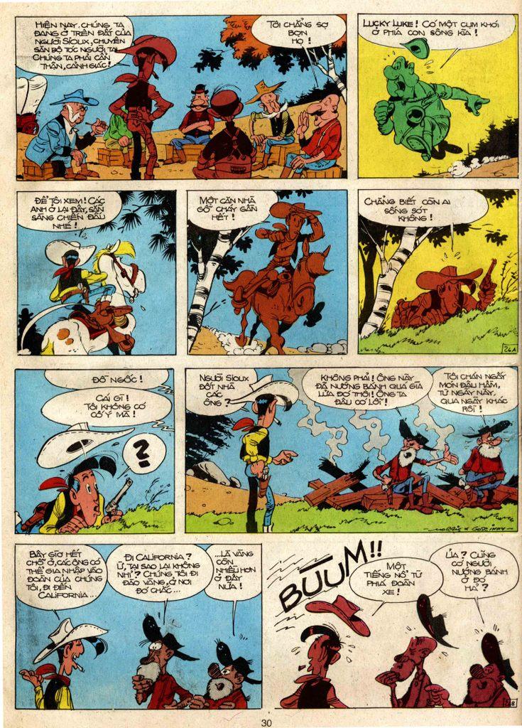 Lucky Luke tap 3 - doan lu hanh trang 25