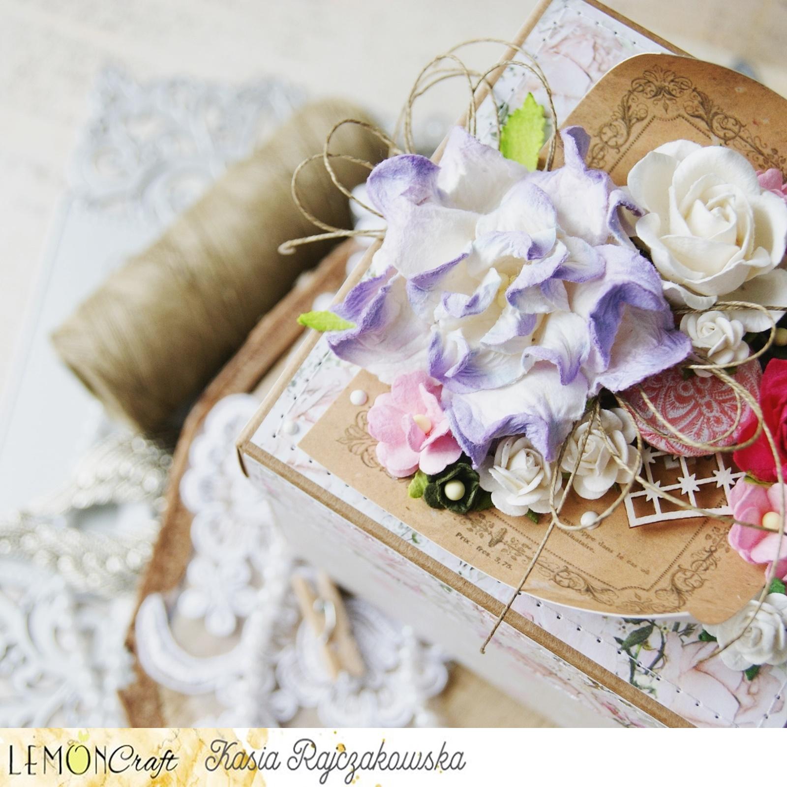 Piękny, kreatywny i warstwowy exploding box z okazji Dnia Matki.