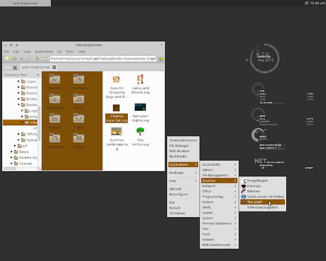 Xubuntu 14.04 dengan Openbox Window Manager