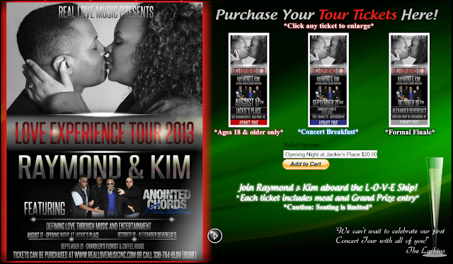 Real Love Music Presents | Love Experience Tour 2013