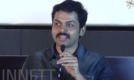Karthi trolls director Suseenthiran | Nenjil Thunivirunthal Audio Launch