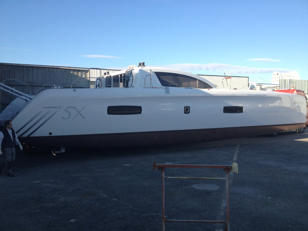 Luxury Catamaran: THE OUTREMER 5X IS LAUNCHED