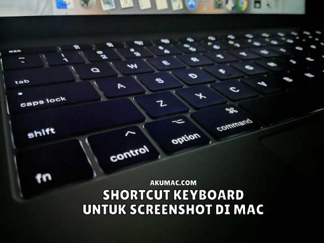 keyboard shorcut screenshot di macbook