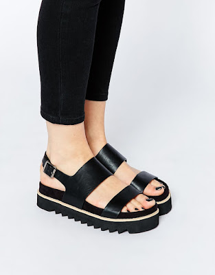 Fable platform sandals, $35.59 from ASOS