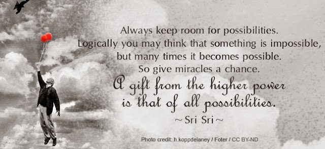 Sri Sri Ravi Shankar - Give Miracles A Chance