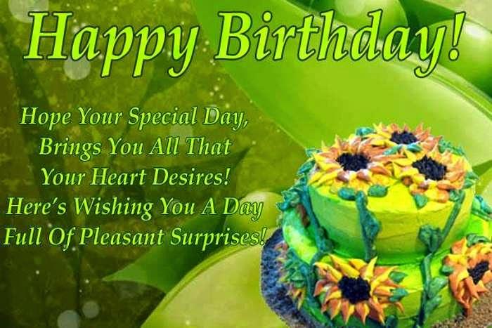 Birthday Wish Ecard HD Wallpaper