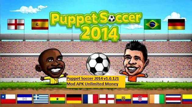 Puppet Soccer 2014 v1.0.121 Mod APK Unlimited Money