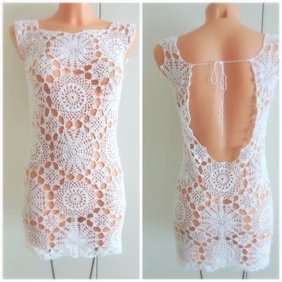 gratis mönster klänning dam