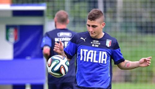 Verratti chưa từng thi đấu ở Serie A