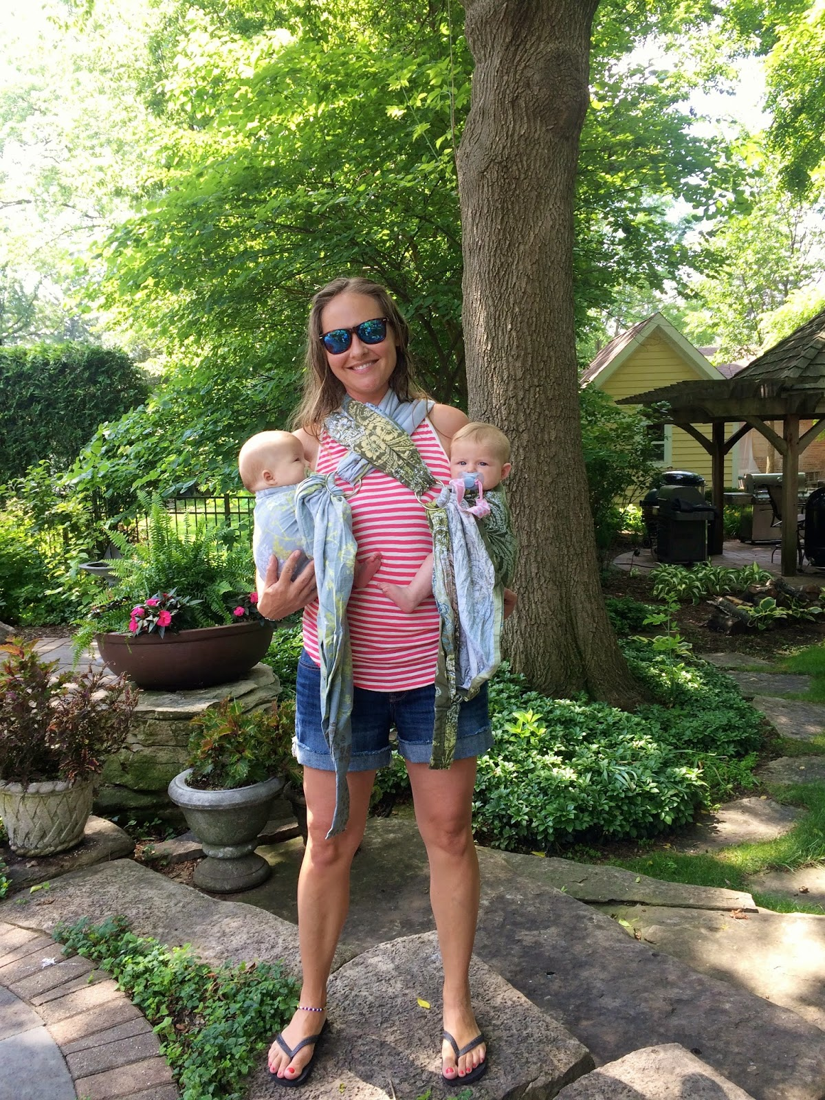 eba28bf80 The Ins and Outs of Babywearing Twins