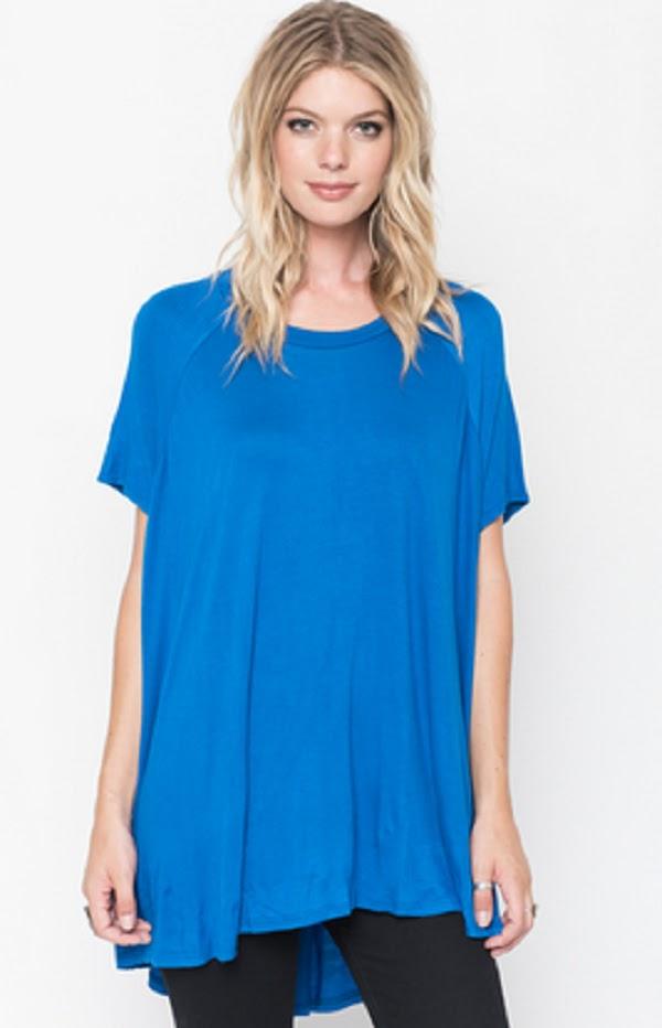 royal blue tunic