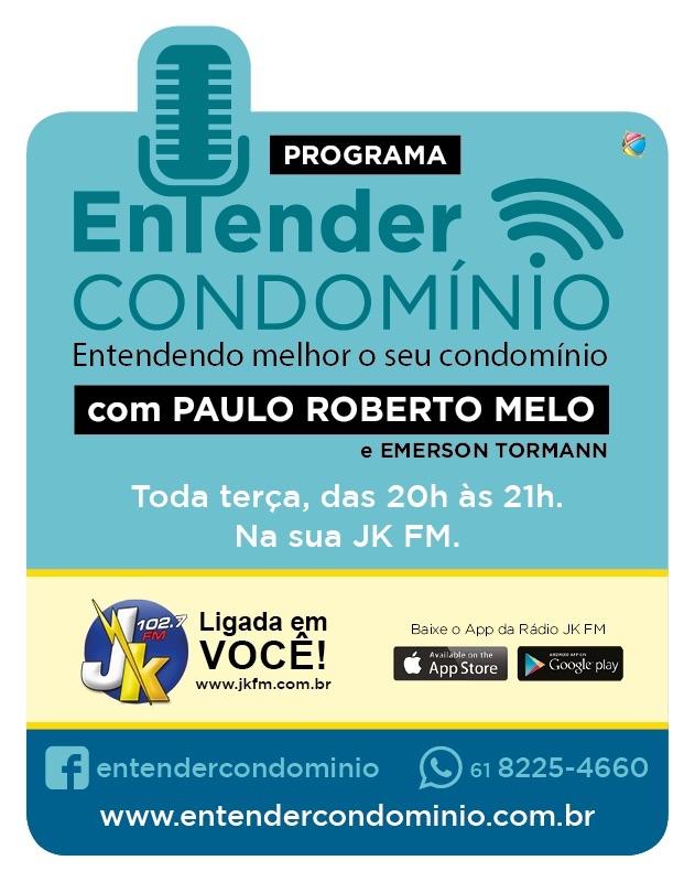 ENTENDER CONDOMÍNIO - RÁDIO JK FM BRASÍLIA - 102,7MHz