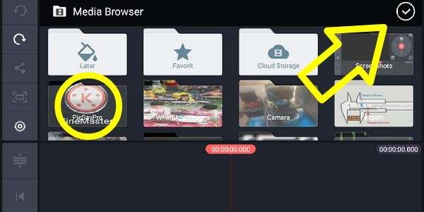Tutorial Cara Menggunakan Kinemaster Untuk Editing Video Di Android Youtube