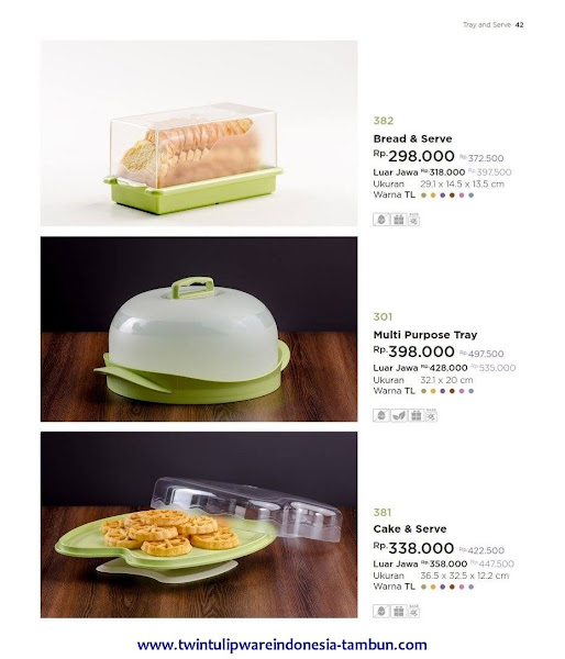 Bread Serve, Multi Purpose Tray, Cake Serve