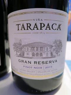 Viña Tarapacá Gran Reserva Pinot Noir 2015 - Leyda Valley, Chile (88 pts)