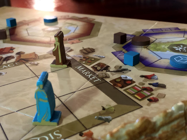 Passing Through Petra Board Game Review; Photo by Benjamin Kocher