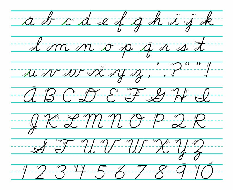 learning cursive handwriting hand writing. Black Bedroom Furniture Sets. Home Design Ideas