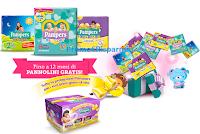 Logo Pampers ''Mamma che pancia'': vinci gratis 104 forniture di prodotti!