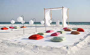 Beach Ceremony Set Ups
