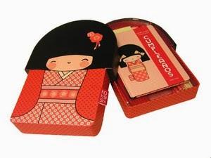Kokeshi. Caja de Cumpleaños