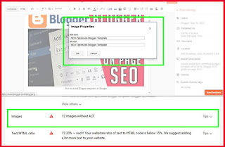 Add ALT text to your blog images