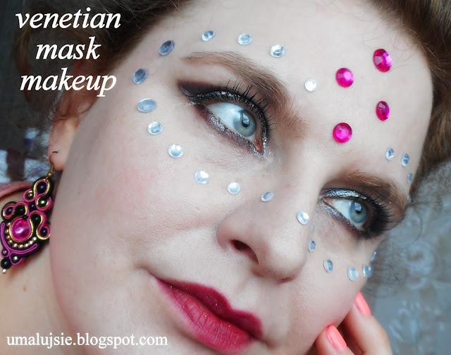 Makijaż MASKA WENECKA #2 / VENETIAN MASK MAKEUP #2